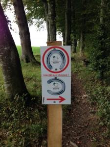 Un nouveau concept de signalisation a été mis en place pour éviter les endroits interdits au passage. Merci de les respecter !
