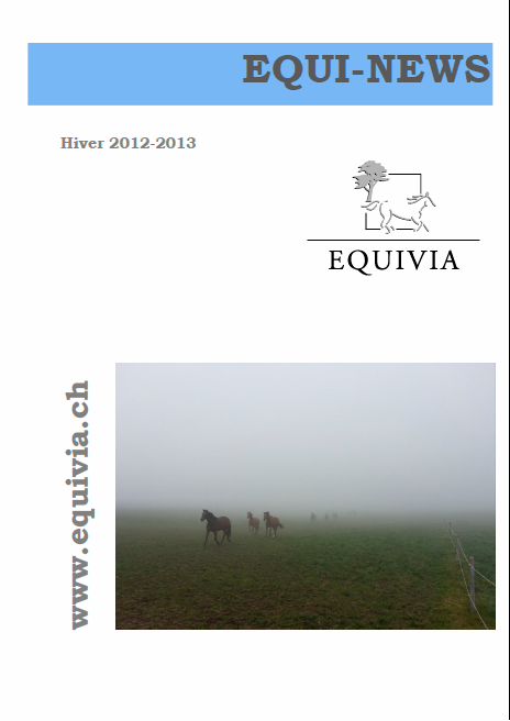 Equinews hiver 2012 - 2013